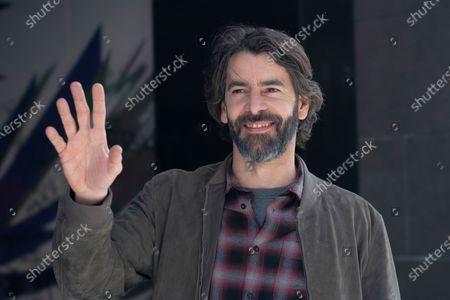 Stock Photo of Spanish actor Eduardo Noriega attends 'Los Traductores' photocall at Ocho Y Medio Library