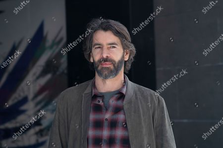 Stock Picture of Spanish actor Eduardo Noriega attends 'Los Traductores' photocall at Ocho Y Medio Library
