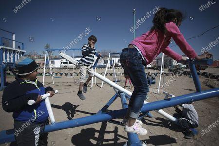 Editorial image of Asylum Seekers, Ciudad Juarez, Mexico - 19 Feb 2021