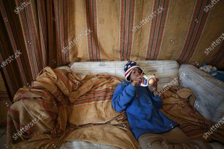 Editorial photo of Asylum Seekers, Ciudad Juarez, Mexico - 19 Feb 2021