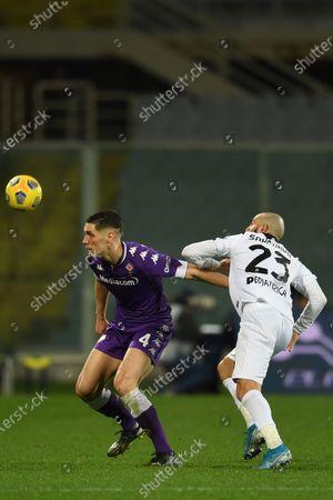 Editorial picture of Soccer: Serie A 2020-2021 : Fiorentina 3- 0 Spezia, Firenze, Italy - 19 Feb 2021