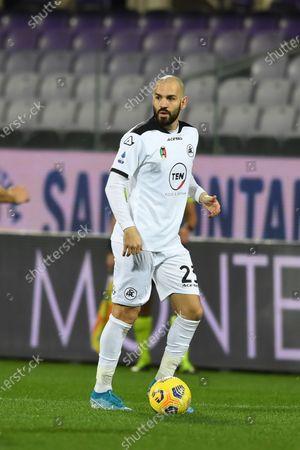 "Riccardo Saponara (Spezia)            during the Italian ""Serie A match between Fiorentina 3- 0 Spezia  at  Artemio Franchi Stadium in Florence, Italy."