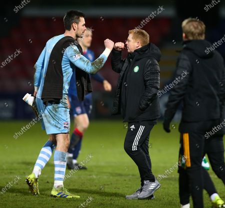 Editorial picture of Ross County v Celtic, Scottish Premiership, Football, Global Energy Stadium, Dingwall, Scotland, UK - 21 Feb 2021
