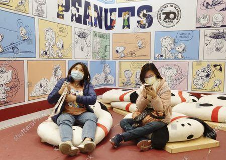 Editorial picture of Virus Outbreak Snoopy, Taipei, Taiwan - 20 Feb 2021