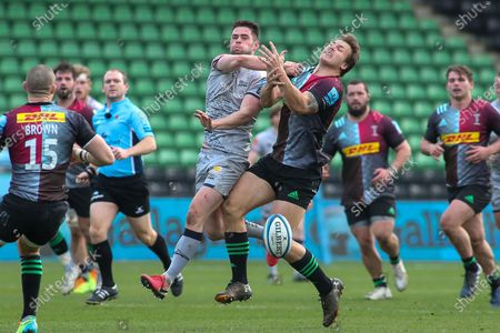 Editorial picture of Harlequins v Sale Sharks, Gallagher Premiership Rugby - 20 Feb 2021