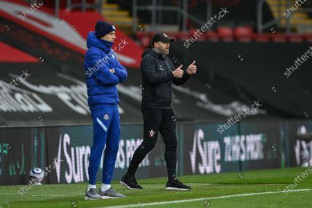 Editorial picture of Southampton FC vs Chelsea FC, United Kingdom - 20 Feb 2021
