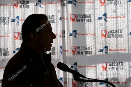 Editorial image of Governors Stars Dimmed, New York, United States - 23 Jan 2021