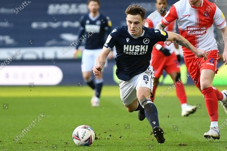 Editorial picture of Millwall v Wycombe Wanderers, EFL Sky Bet Championship - 20 Feb 2021