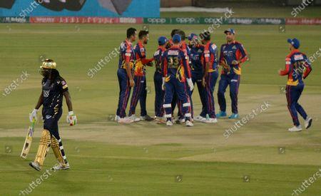 Editorial image of Cricket PSL, Karachi, Pakistan - 20 Feb 2021