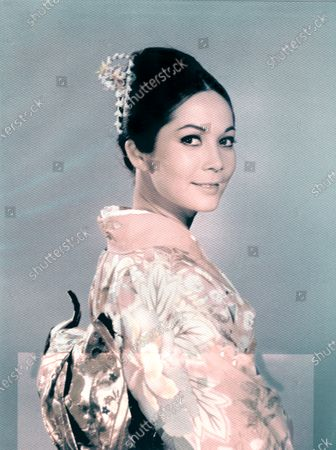 """Nancy Kwan, Half-Length Publicity Portrait for the Film, """"Nobody's Perfect"""", Universal Pictures, 1968"""