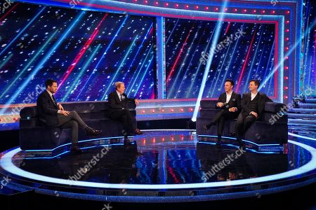 Jamie Redknapp, Harry Redknapp, Anthony McPartlin and Declan Donnelly