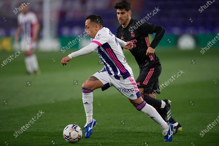 Editorial photo of Real Valladolid CF v Real Madrid, La Liga Football match, Santander Jose Zorrilla stadium, Valladolid, Spain - 20 Feb 2021