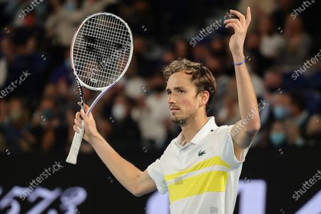 Editorial photo of Tennis Australian Open Day 14, Melbourne, USA - 21 Feb 2021
