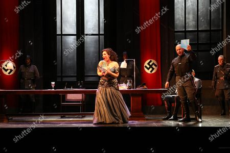 Editorial image of 'Tosca' play final dress rehearsal, Sydney, Australia - 20 Feb 2021