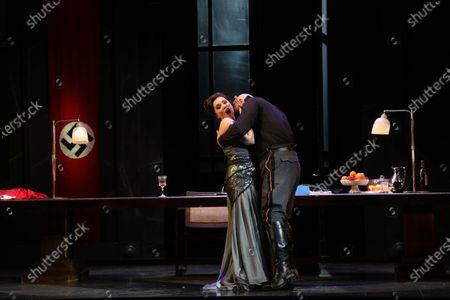Editorial photo of 'Tosca' play final dress rehearsal, Sydney, Australia - 20 Feb 2021