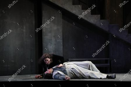 Editorial picture of 'Tosca' play final dress rehearsal, Sydney, Australia - 20 Feb 2021