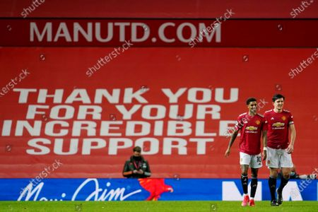 Editorial image of Manchester United v Newcastle United, Premier League, Football, Old Trafford, Manchester, UK - 21 Feb 2021