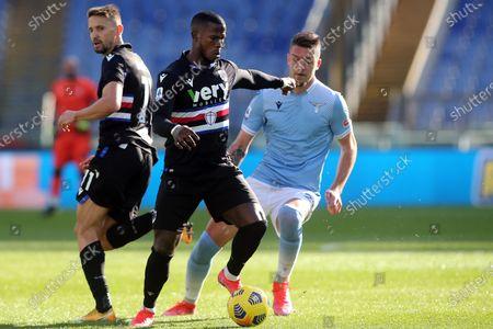 Keita Balde (Sampdoria) in action