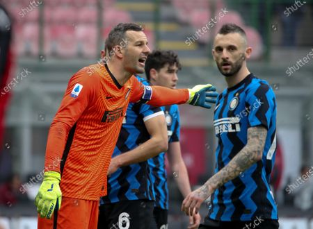 Editorial picture of AC Milan vs FC Inter, Italy - 21 Feb 2021