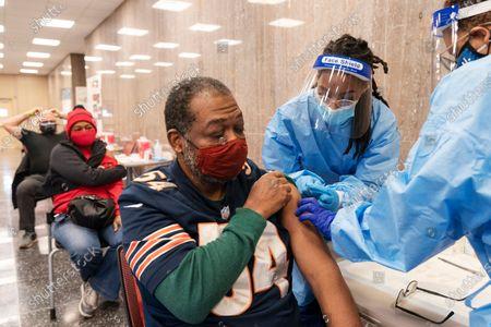 Editorial picture of Virus Outbreak Black Pastors, Washington, United States - 10 Feb 2021