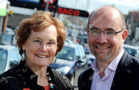 Gordon Brown's Mother-in-Law Pauline Macaulay with Jim Knight Employment Minister