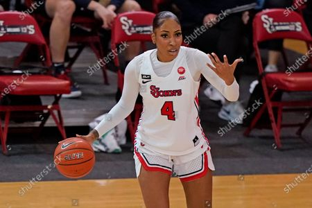 St. John's forward Raven Farley (4) during the second quarter of an NCAA college basketball game, at St. John's University in New York