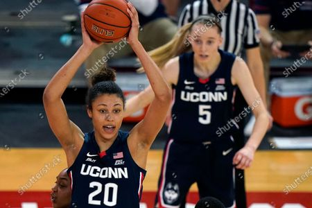 Editorial image of UConn St. Johns Basketball, New York, United States - 17 Feb 2021