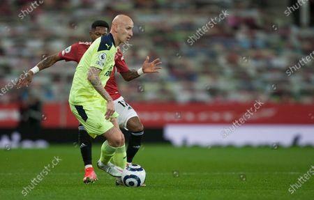 Jonjo Shelvey of Newcastle United in action