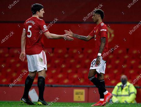 Editorial photo of Manchester United vs Newcastle United, United Kingdom - 21 Feb 2021