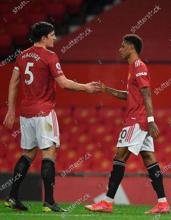 Editorial picture of Manchester United vs Newcastle United, United Kingdom - 21 Feb 2021