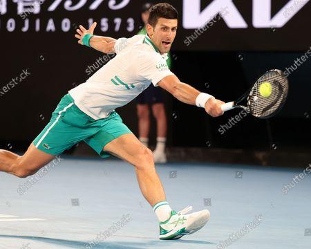 Editorial image of Tennis Australian Open: Djokovic Wins Mens Singles Final, Melbourne, USA - 21 Feb 2021