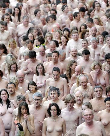 God Spencer tunick naked people