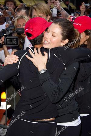 Halle Berry and Jennifer Biel