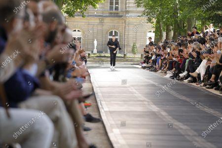 Editorial image of Berluti show, Runway, Spring Summer 2020, Paris Fashion Week, Jardin de Luxembourg, Orangerie Ferou, France - 21 Jun 2019
