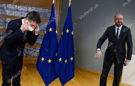 Editorial image of EU Economy, Brussels, Belgium - 22 Feb 2021