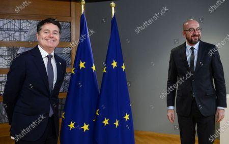 Editorial picture of EU Economy, Brussels, Belgium - 22 Feb 2021