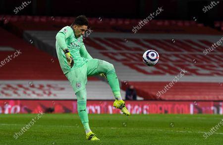 Editorial picture of Arsenal v Manchester City, Premier League, Football, Emirates Stadium, London, UK - 21 Feb 2021