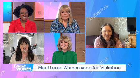 Editorial photo of 'Loose Women' TV Show, London, UK - 22 Feb 2021