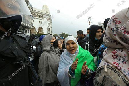 Editorial photo of Protest, Algiers, Algeria - 22 Feb 2021