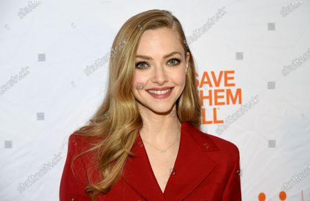 """Actress Amanda Seyfried attends the fourth annual Best Friends Animal Society benefit gala in New York on . Seyfried stars in the David Fincher film """"Mank"""