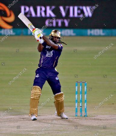 Editorial picture of Cricket PSL, Karachi, Pakistan - 22 Feb 2021
