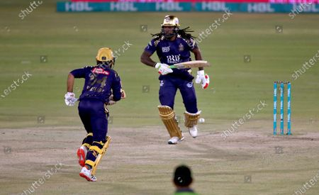 Editorial photo of Cricket PSL, Karachi, Pakistan - 22 Feb 2021