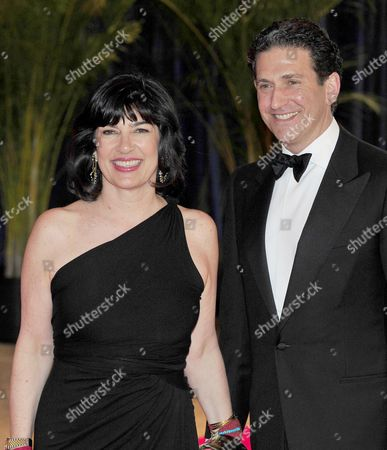 Christiane Amanpour and her husband, former Assistant Secretary of State James Rubin