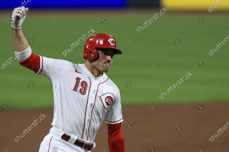 """Votto is determined to be a power-hitter again. """"I want to get back to being dangerous,"""" the 37-year-old first baseman said from Cincinnati Reds spring training complex in Goodyear, Arizona"""