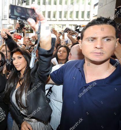 Kim Kardashian West and bodyguard Shengo Deane
