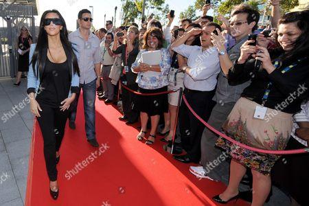 Editorial picture of Kim Kardashian on tour for Optus Motorola Blur, Sydney, Australia - 02 May 2010