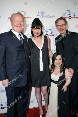 Stock Photo of Christian Clemenson, Honoree Pauley Perrette, Meredith Eaton and David Dean Bottrell
