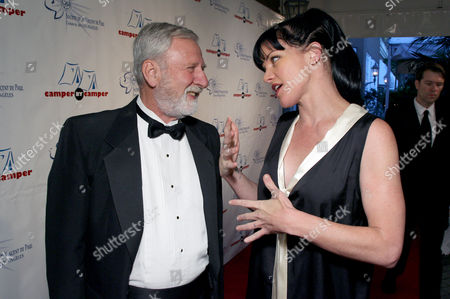 Stock Picture of James Weiss and Honoree Pauley Perrette