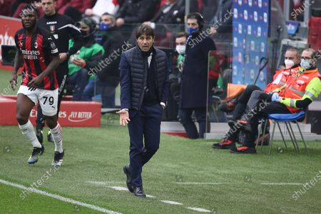 Editorial picture of AC Milan vs FC Inter, Serie A Championship, Football, Italy - 21 Feb 2021