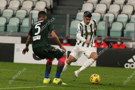 Alvaro Morata (Juventus FC) in action